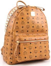 stark backpack cognac 40 cm mwk2sve12co001 designer bags shop - Mcm Designer