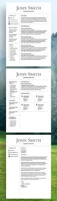 Resume Word Template Free Best 20 Resume Templates Ideas On No Signup Required