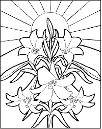 easter colouring religious easter colouring pages