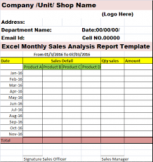 sales analysis report template weekly sales report sle professional and high quality templates
