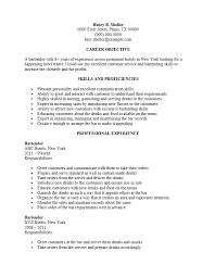 server resume exles bartender resume objective bartender server resume exle tgam