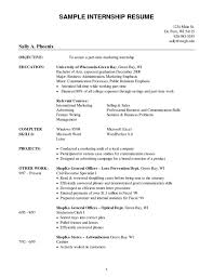 accounting resume objective statements cover letter example of