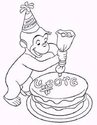 printable curious george coloring pages art coloring pages