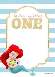 free mermaid invitation template eliolera com