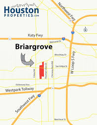 Real Estate Map Briargrove Houston Tx Real Estate U0026 Neighborhood Guide