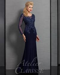 atelier clarisse long sleeve special occasion dress 6333 bride