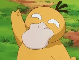 Psyduck Meme - when i was little i loved psyduck and bulbasaur so much psy