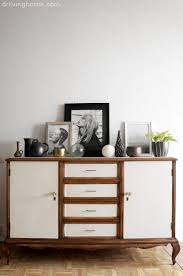 old modern an old sideboard gets a classy and modern makeover dr