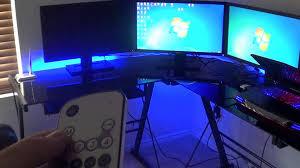 Computer Setup Room My Computer Room Setup Youtube