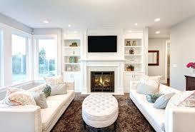 Fireplace With Built In Cabinets Bookcase Gas Fireplace With Built In Bookshelves Fireplace Built