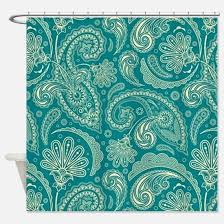 Paisley Shower Curtain Turquoise Paisley Shower Curtains Turquoise Paisley Fabric