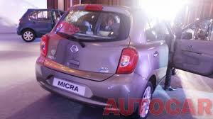 nissan micra music system report u0026 pics nissan launches 2013 micra and micra active