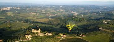 tuscany ballooning air balloon flights in tuscany florence