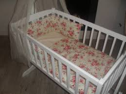 Vintage Style Crib Bedding Vintage Toile De Jouy Cradle Crib Bedding Bumper Quilt And