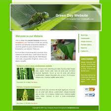 Color Green Green Website Templates
