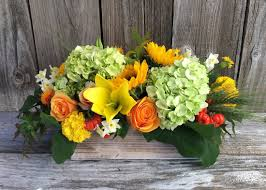 thanksgiving flower bowl florist