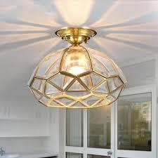 vintage copper ceiling light european vintage copper cloakroom ceiling light corridor bedroom