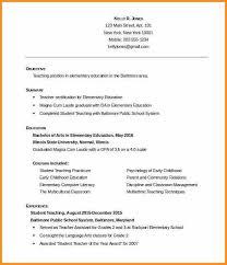 teacher resumes templates free spanish teacher resume template