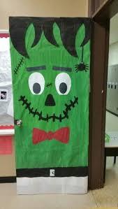 Frankenstein Door Decoration Frankenstein Door Door Ideas Pinterest