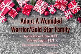 adopt a wounded warrior gold family 2017 operation