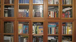 bookcases with glass doors uk inspiration yvotube com