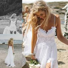 maxi wedding dress backless spaghetti 2015 new summer wedding dresses high low