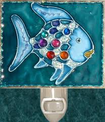 Fish Nursery Decor The Sea Rainbow Fish Light Nursery Decor