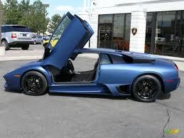 Lamborghini Murcielago Matte Black - 2009 matte blue lamborghini murcielago lp640 coupe 16315443 photo
