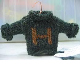 ravelry mini weasley sweater ornaments pattern by alison hansel