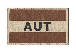 Photo Flag Austria Flag Patch Desert Identifikation Equipment Clawgear