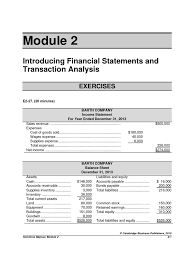 solutions to module 2 exercises and problems pdf expense