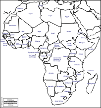 africa map africa free maps free blank maps free outline maps free base maps