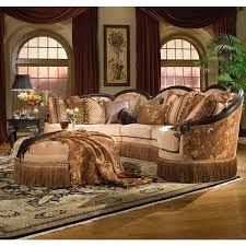 Houston Sectional Sofa Grace Spicy 3 Pc Sectional Rachlin Furniture Houston
