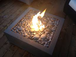 Concrete Firepit Bento 32 Concrete Pit In Charcoal Paloform