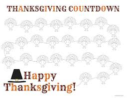 thanksgiving countdown thanksgiving and thanksgiving blessings