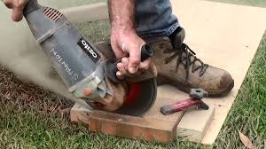 Cutting Patio Pavers How To Cut Paving Bricks Jig For Holding Paving Bricks Dave