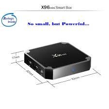 x96mini android 7 1 2 tv box amlogic s905w 2gb 16gb eu sales