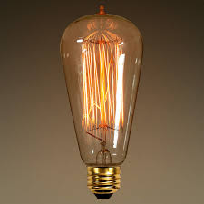 60 watt edison bulb 5 4 in length vintage light bulb