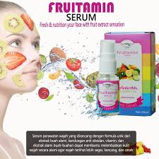 Serum Wajah Shop distributor serum fruitamin bpom original vloei shop
