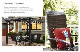 Motion Patio Chairs Shop The Folcroft Patio Collection On Lowes Com