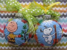 the vintage umbrella peanuts christmas ornament