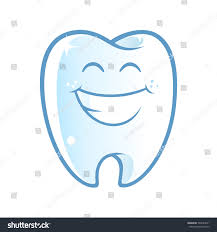 halloween background dental sympathetic tooth big smile on white stock vector 540044671