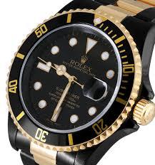 golden rolex rolex submariner u0026 daytona u2014black gold rolex by time and gems