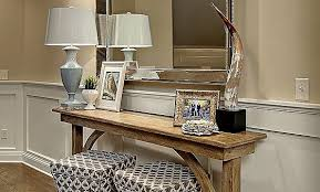 Oak Console Table With Drawers Kissndate Com Console Table