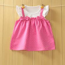 baby dress summer newborn dresses bow cotton infant