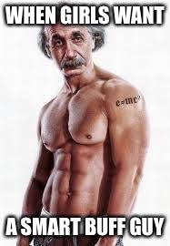 Buff Guy Meme - buff einstein imgflip