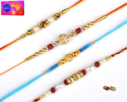 buy rakhi online buy rakhi online beautiful set of 4 rakhi online best prices in
