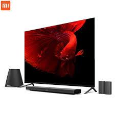 display tv original xiaomi mi tv 4 65 inchs smart tv english interface real 4k