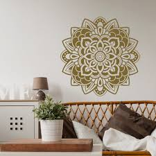 compare prices on pretty room online shopping buy low price religious series decoration art wall stickers mandala flower beauty pretty patterned art wall decals mural home