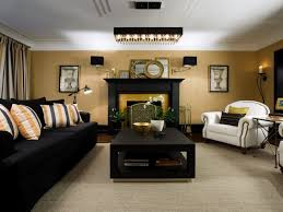 living room black and gold living room decor 00033 the